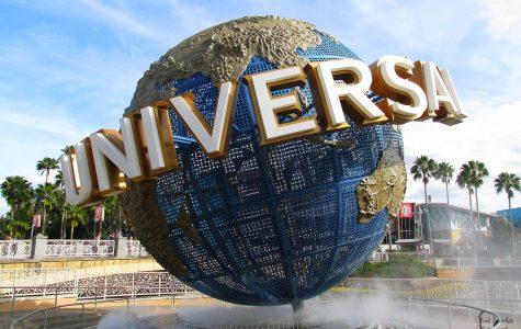 Universal logo at the Orlando theme park.