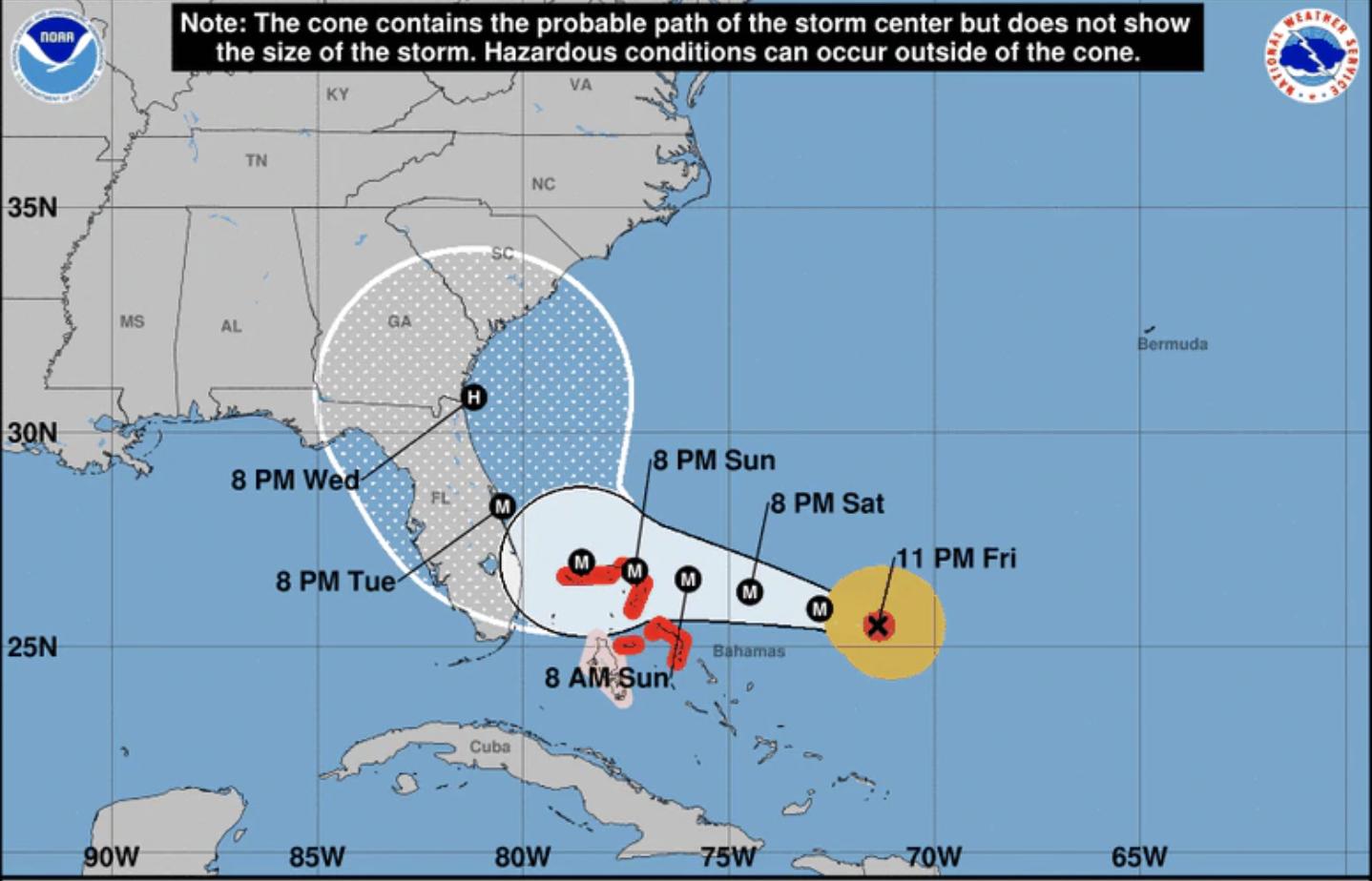 Photo courtesy of the National Hurricane Center