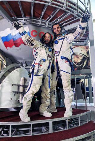 Lee Giat, student astronaut, Russia astronaut training