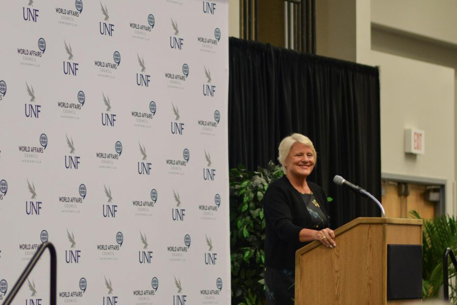 Former U.S. ambassador speaks at UNF on relations with Latin America