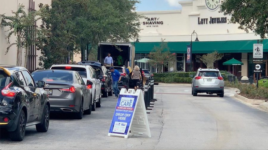 Convoy of Care: Bahamas Hurricane donations at St. Johns Town Center