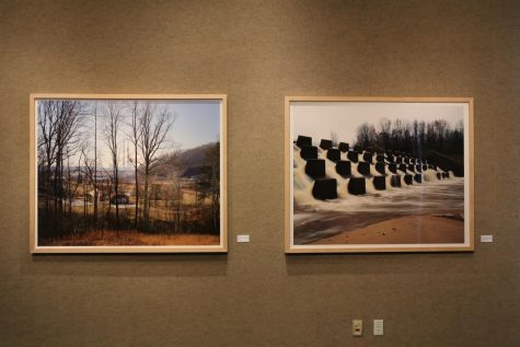 """Watershed"" art exhibit in The Lufrano Gallery"