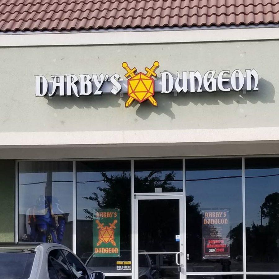 Darby's Dungeon. Credit Darby Herbin.