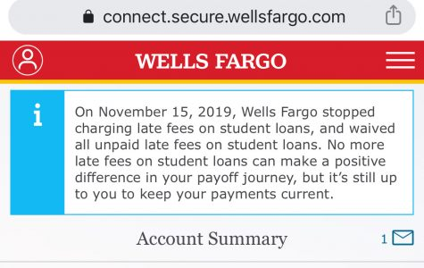 Wells Fargo is dropping late fees for student loans