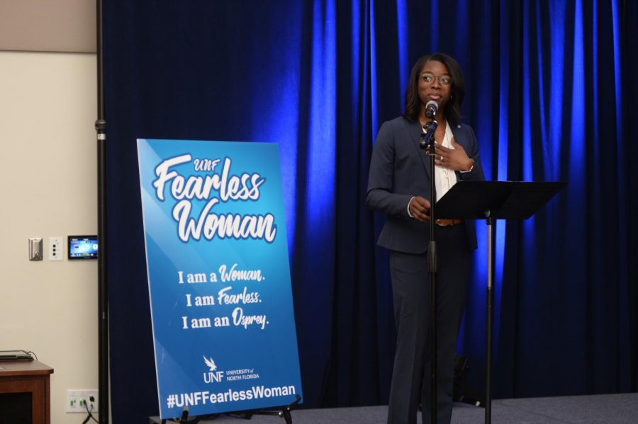 The Fearless Woman Initiative. Photo courtesy of UNF.