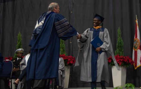 UNF's Fall 2019 Commencement on Friday, December 13, 2019. Photo credit Lili Weinstein.