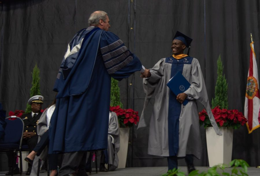 UNFs Fall 2019 Commencement on Friday, December 13, 2019. Photo credit Lili Weinstein.