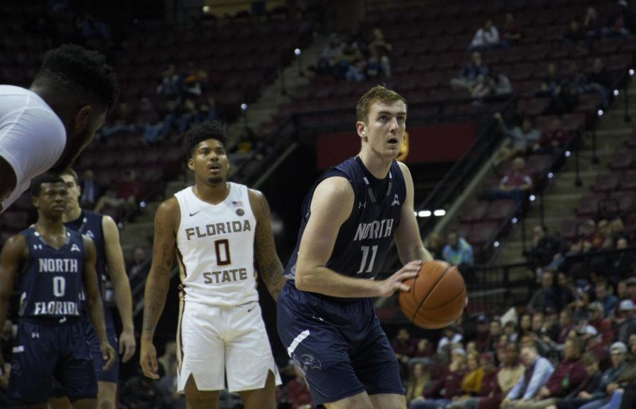 Garrett Sams scored 16 points in the win over Kennesaw State Photo by: Darvin Nelson