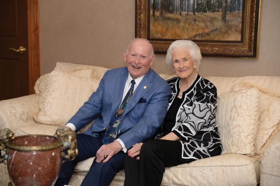 Luther and Blanche Coggin. Photo courtesy of UNF.