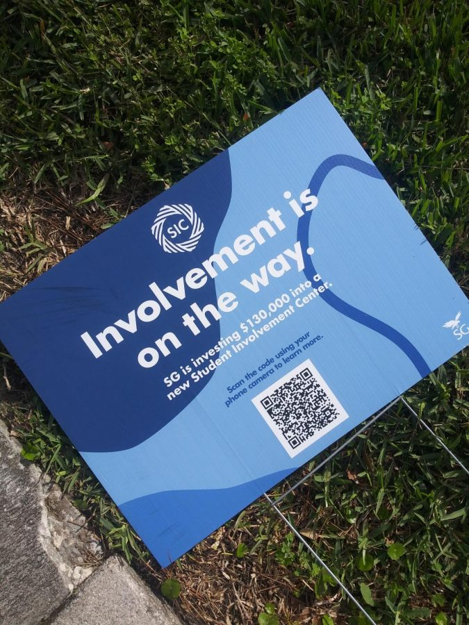 Student Body President John Aloszka unveils new Student Involvement Center; clubs have mixed response