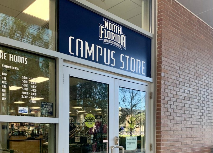 The UNF Bookstore. Photo credit Emily Echevarria.