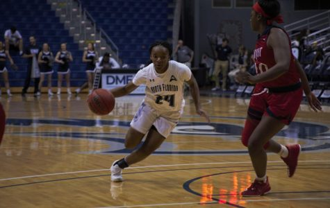 Janesha Green scored 14 points in the loss to Lipscomb.