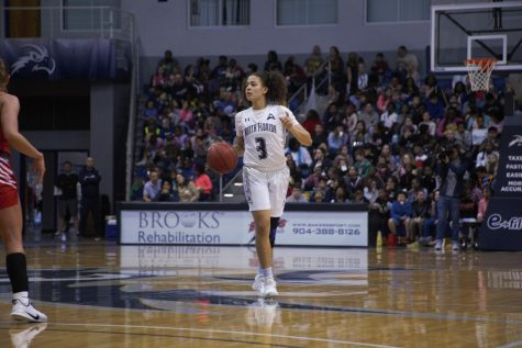 UNF WBB loses season-opener to ranked NC State 65-93
