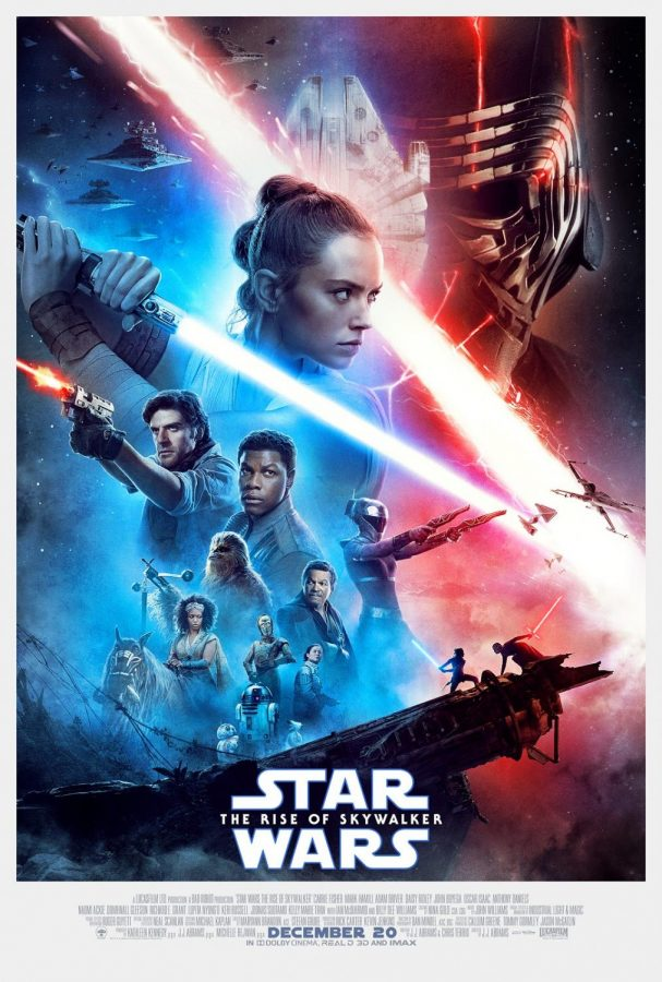Star Wars: The Rise of Skywalker movie poster. Courtesy of Lucasfilms.