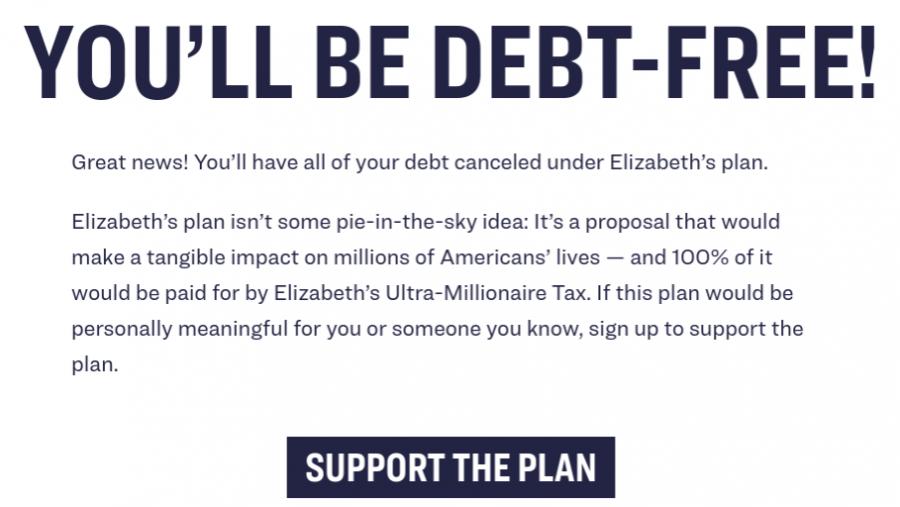 Warren's war on student debt