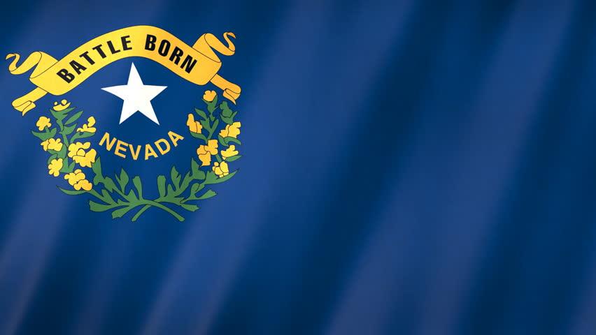 Nevada state flag.