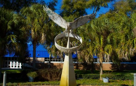 UNF Osprey Sculpture. Photo credit Jonathan Merin.