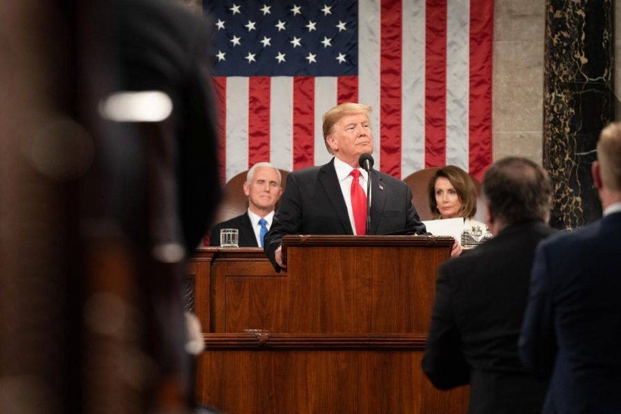 President Donald Trump gives his 2019 State of the Union.