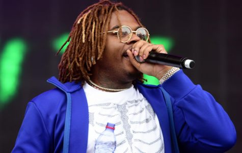 Photo of Gunna performing on stage