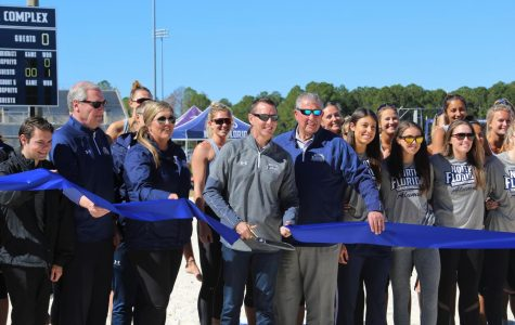 Cooper Beach Volleyball Complex officially opens