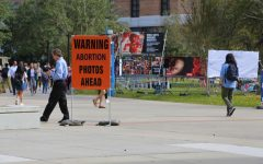 Graphic abortion display on Campus: Why they're here and what students think about it