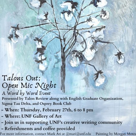 The Talon Review presents Open Mic Night