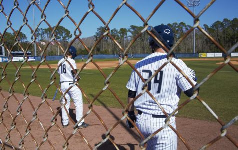 Ospreys rally late, fall to Rutgers in series sweep