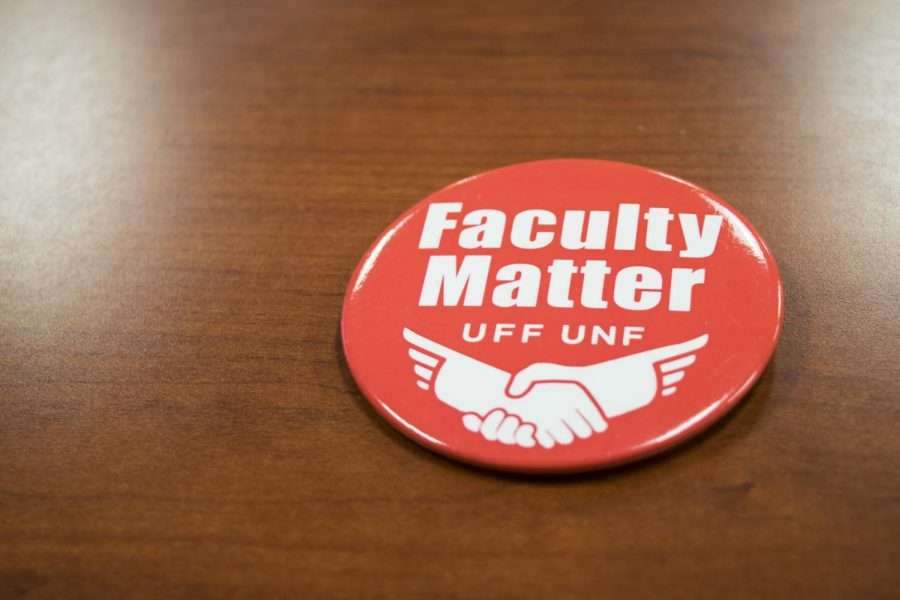 Faculty Matters Button. Photo credit Christian Ayers.