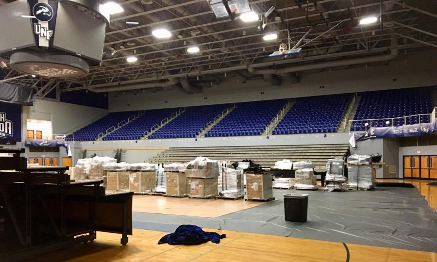Renovations begin at UNF Arena