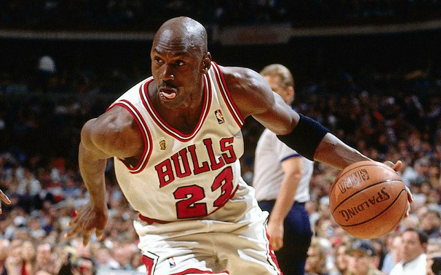 Coming off five previous championships with the Bulls, Michael Jordan searches for his sixth in