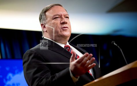 "FILE - In this April 29, 2020, file photo Secretary of State Mike Pompeo speaks at a news conference at the State Department in Washington. Chinese leaders ""intentionally concealed the severity"" of the pandemic from the world in early January, according to a 4-page, Department of Homeland Security report dated May 1 and obtained by The Associated Press. The revelation comes as the Trump administration has intensified its criticism of China, with Pompeo saying Sunday, May 3, that China has been responsible for the spread of disease in the past and must be held accountable for the outbreak of the current pandemic. (AP Photo/Andrew Harnik, File)"