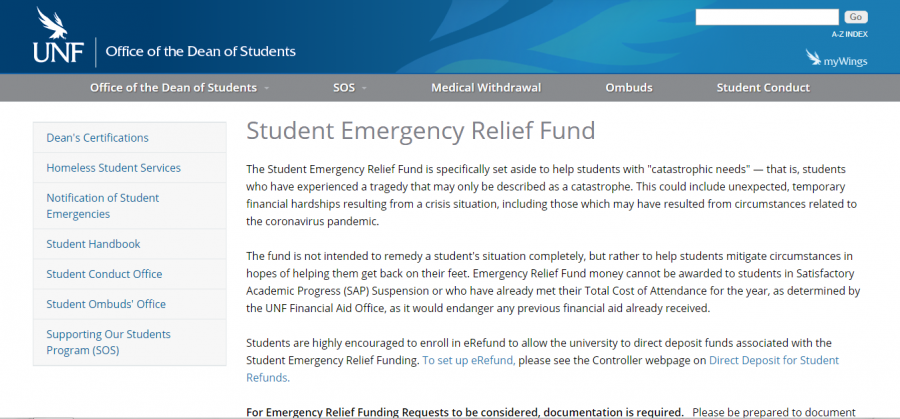 UNF Student Emergency Relief Fund nears $700,000 and awards $111,569