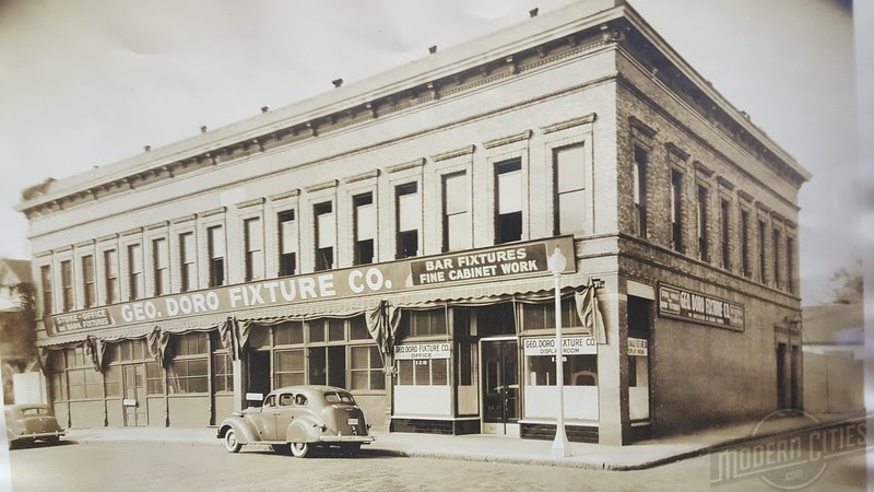 Photo from the Jaxon - the oldest of the Doro Fixture Co. buildings constructed in 1903/04. May be the last surviving commercial storefront building from the 19th century suburb of East Jacksonville.