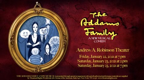 "Swooptroupe presents ""The Addams Family,"" a musical comedy"