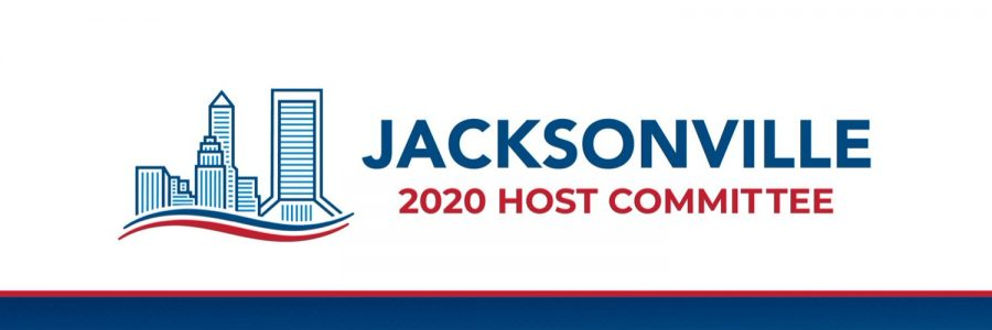 President Trump will accept his nomination in Jacksonville in August. (Graphic courtesy of WOKV)