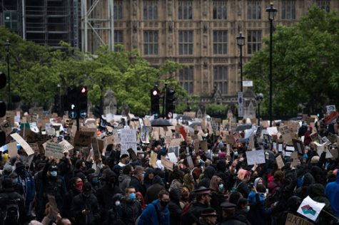 Royalty free photo from protests in London from unsplash.com