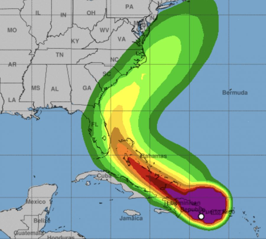 Florida remains in path of tropical storm as track shifts