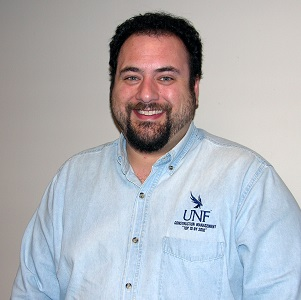 Dr. James Sorce. Photo from UNF page listing faculty and staff for Construction Management.