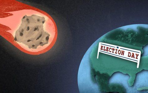 Asteroid heads toward Earth near Election Day