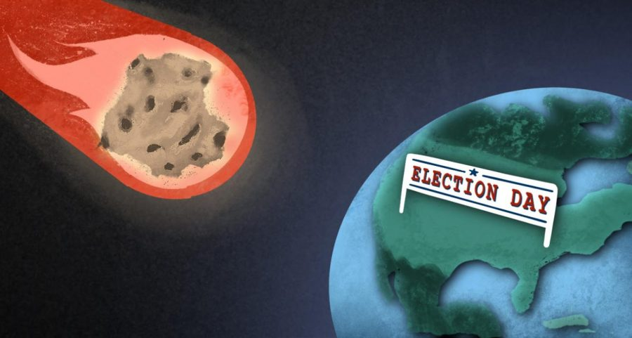 Asteroid heads toward Earth near Election Day