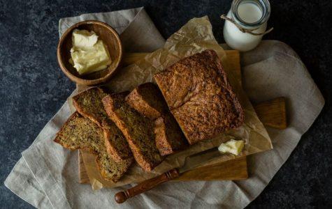 One-bowl chocolate chip banana bread recipe
