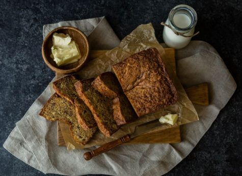 One-bowl chocolate chip banana bread recipe