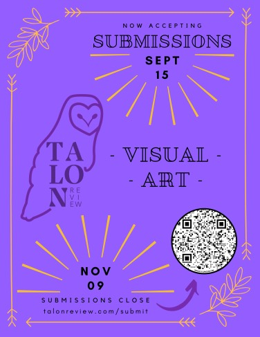 Talon Review accepting submissions