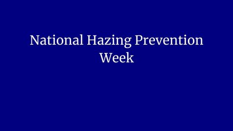 National Hazing Prevention Week; Students required to take hazing course
