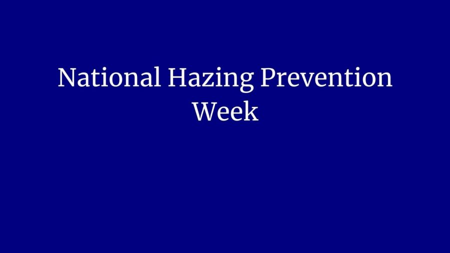 National+Hazing+Prevention+Week%3B+Students+required+to+take+hazing+course