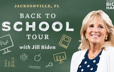 Jill Biden takes part in virtual education panel here in Jacksonville