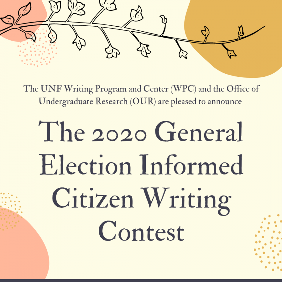 The Writing Center encourages students to submit in the 2020 General Election Informed Citizens Writing Contest.