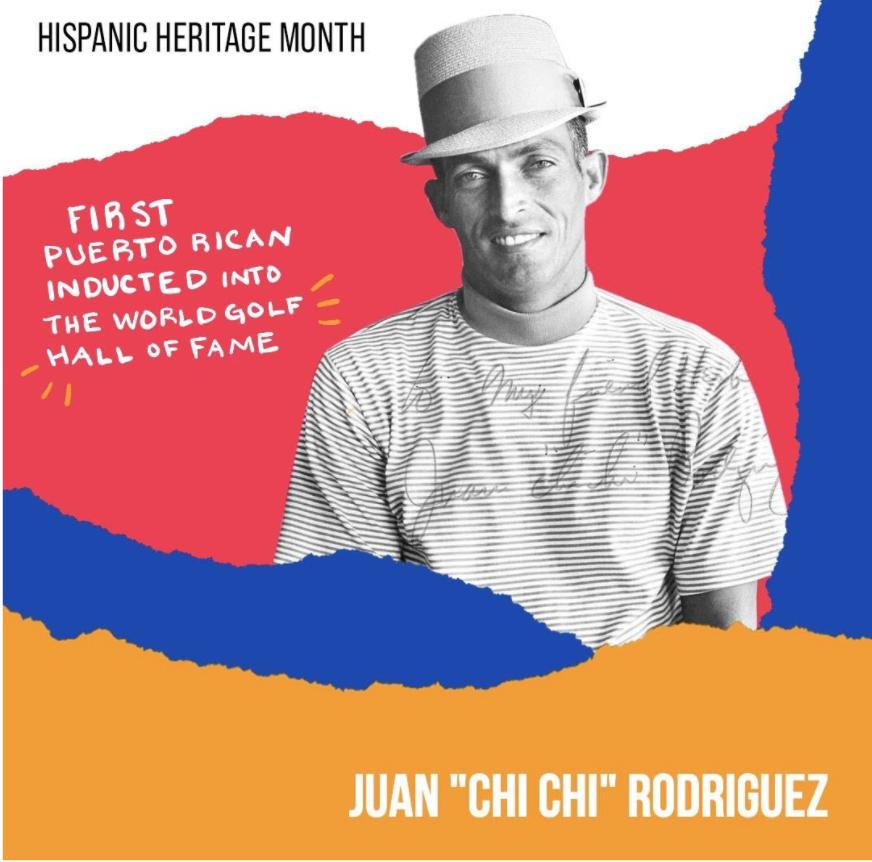 "Hispanic Heritage Month highlight: Juan ""Chi Chi"" Rodriguez"