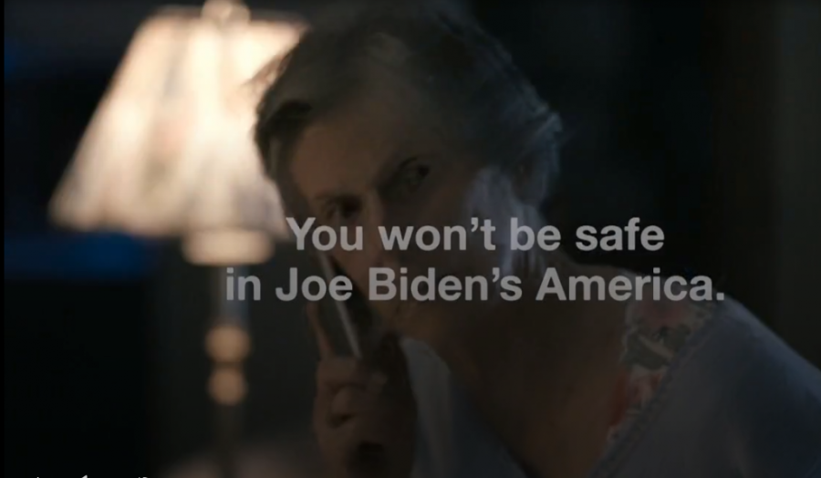 Donald Trump political ad. Courtesy of ispot.tv. Click here for the full ad.