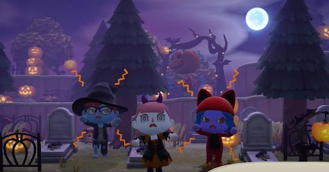 Animal Crossing: New Horizon's Halloween update
